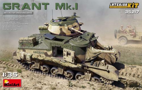 Grant Mk. Interior Kit 1/35