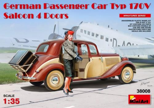 German Passenger Car Type 170V 4 Door 1/35