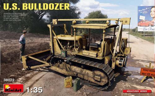 US Bulldozer 1/35