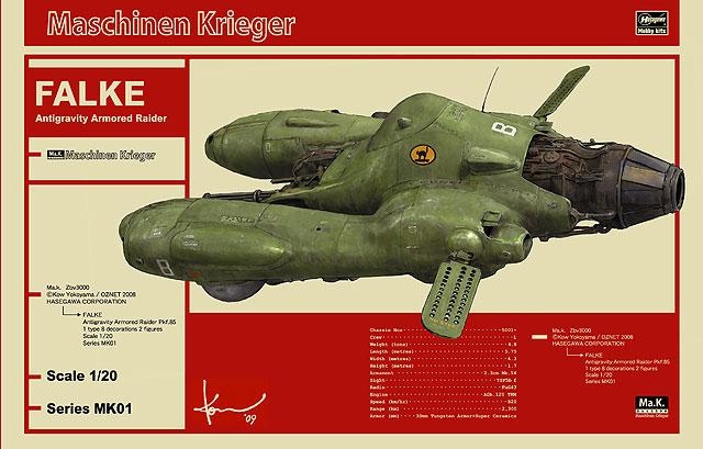ANTIGRAVITY ARMORED RAIDER Pkf.85 FALKE 1/20