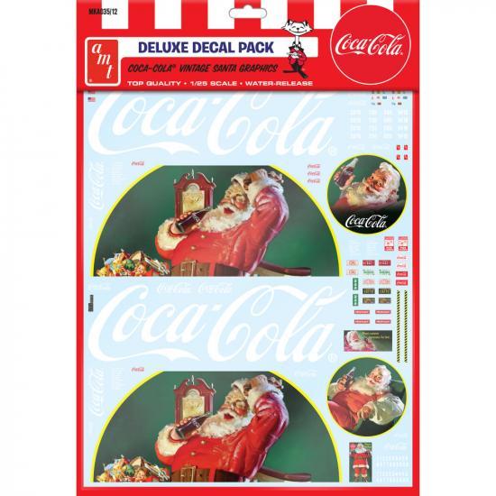 Vintage Coca-Cola Santa Clause Big Rig Graphics 1/25