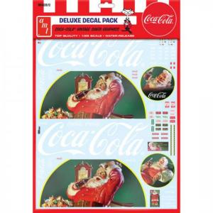 Vintage Coca-Cola Santa Clause Big Rig Graphics 1/25