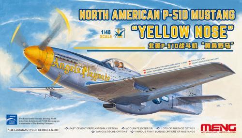 "US P-51D Mustang ""Yellow Nose"" 1/48"