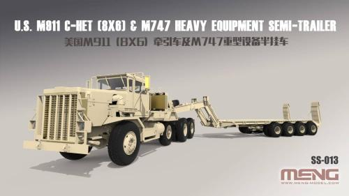 US M911 C-HET & M747 Semi-Trailer 1/35