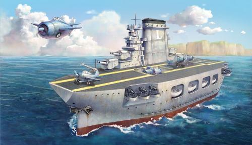 Warship Builder Lexington Cartoon Ship