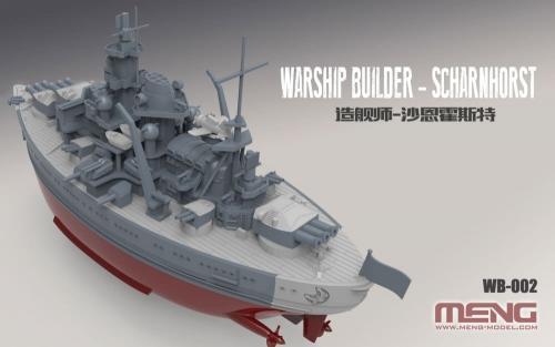 Warship Builder Scharnhorst Cartoon Ship