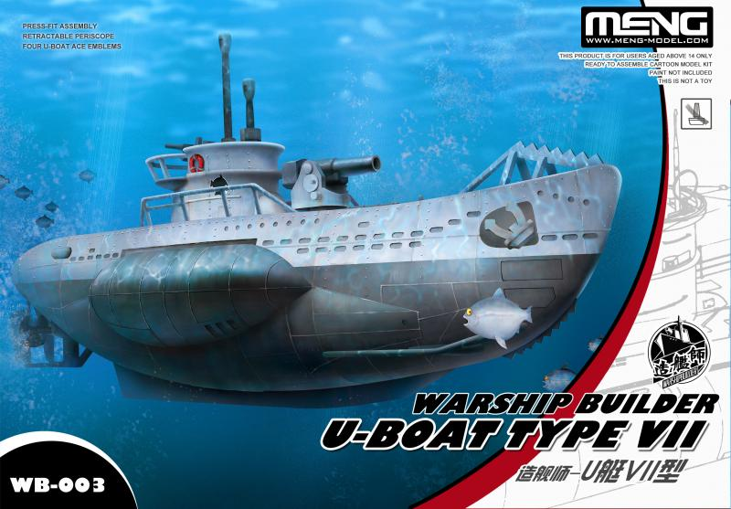 Warship Builder U-Boat Type VII Cartoon Ship