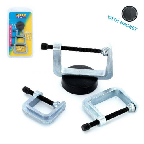 G-Clamps & Magnet x 3