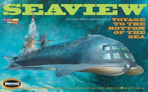 Seaview Submarine 8 window Movie - revised - 98 cm 1/128