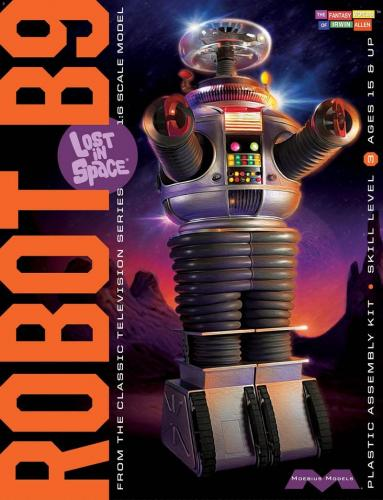 Robot B9 from Lost In Space 1/8