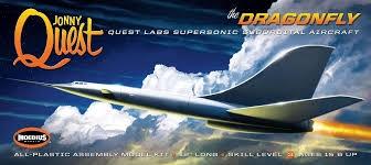 Jonny Quest Dragon Fly L.30 cm 1/200