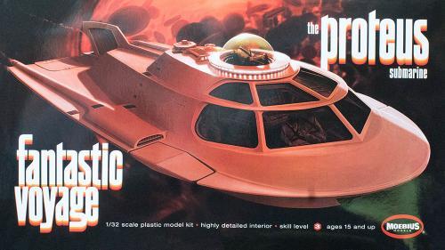 Fantasic Voyage Proteus 1/32