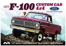 1970 Ford 1970 F100 4X4 1/25