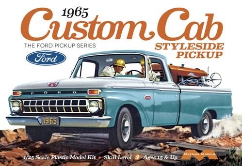 1965 Ford Custom Cab Styleside Pickup 1/25