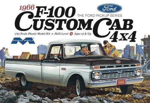 1966 Ford F100 Custom Cab 4x4 1/25