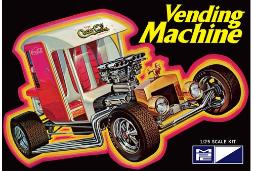 Coca Cola Vending Machine Show Rod 1/25