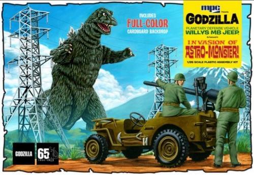Godzilla Army Jeep 1/25