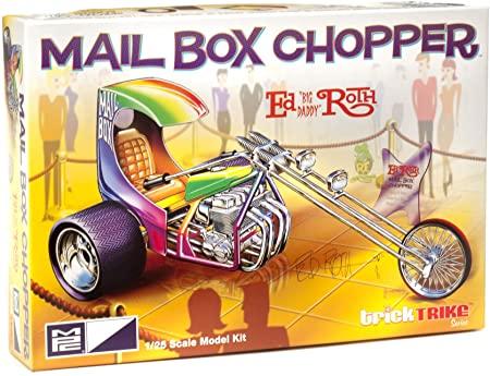 Ed Roth'S Mail Box Chopper Trick Trikes 1/25