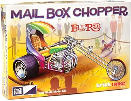 Ed Roth'S Mail Box Chopper Trick Trikes 1/25