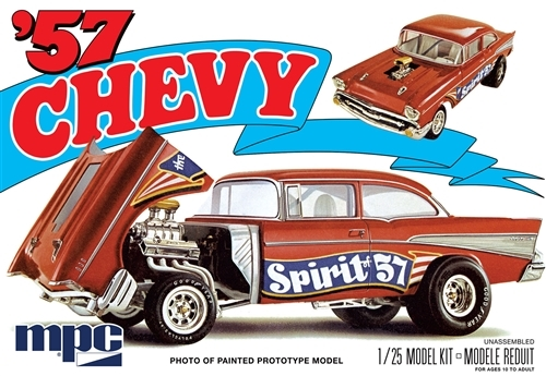 1957 Chevy Flip Nose 1/25