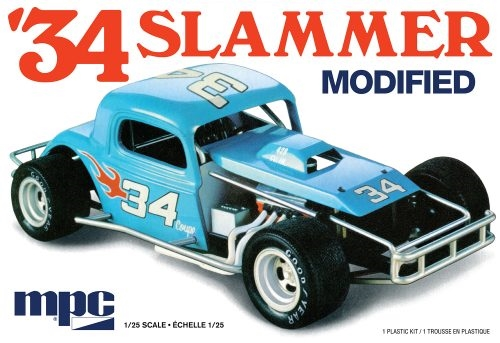 "1934 ""Slammer"" Modified 1/25"