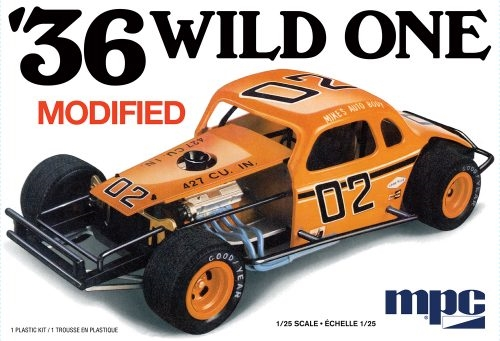 1936 WILD ONE MODIFIED 1/25