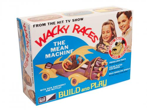 WACKY RACES - MEAN MACHINE - NO GLUE 1/32