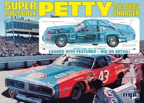 RICHARD PETTY 1973 DODGE CHARGER 1/16