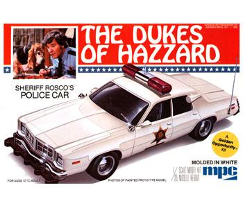 Sheriff Rosco's Dodge Monaco Police Car 1/25
