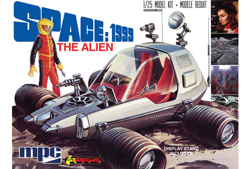 Space 1999 The Alien (Moon Rover) 1/25