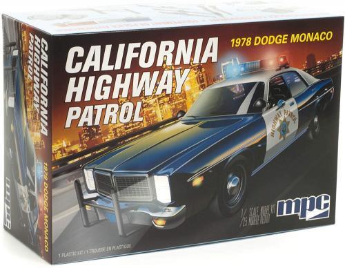 1978 Dodge Monaco Police Car 1/25