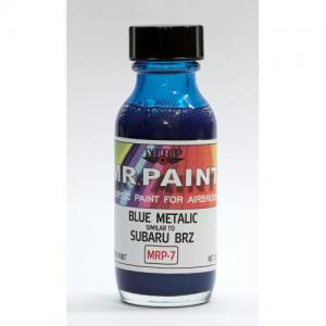 Blue metalic