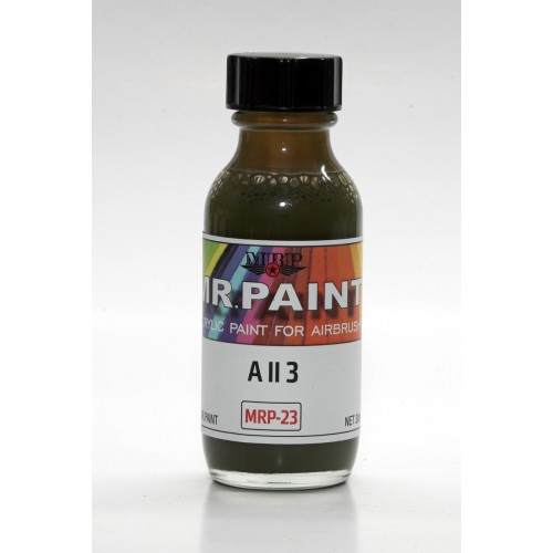 A II 3 Green