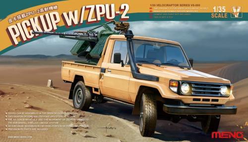 Toyota Hilux Pick Up Truck w/ ZU23-2 1/35