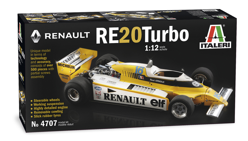 RENAULT RE 20 Turbo 1/12