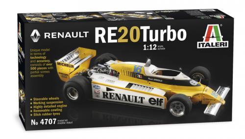 RENAULT RE 20 Turbo 1/12