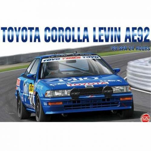 1989 Toyota Corolla Levin AE92 24h Spa 1/24
