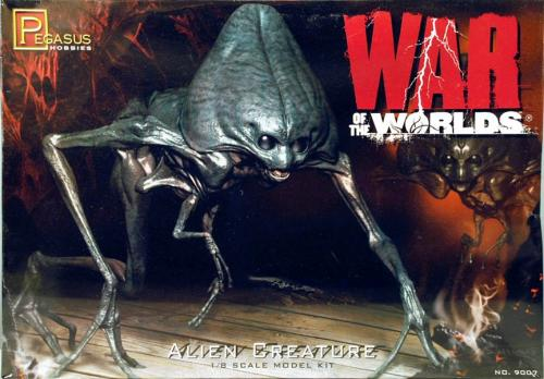 Alien Creature War Of The Worlds 1/8