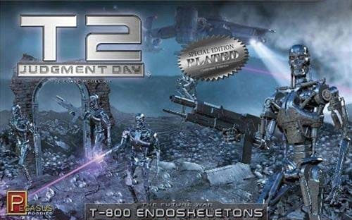 T2 Judgement Day T-800 Endoskeletons (Chrome)