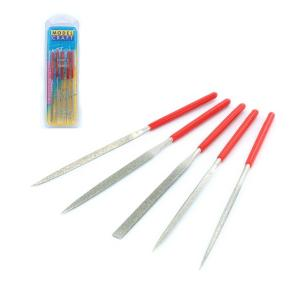 Set of 5 diamond needle files
