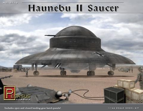 Haunebu II Saucer 1/144