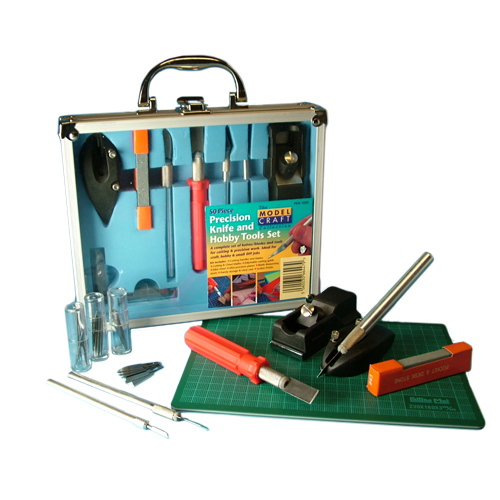Precision Knife and Hobby Tools Set