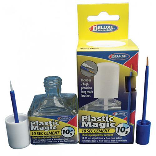 Plastic Magic 10 sec cement