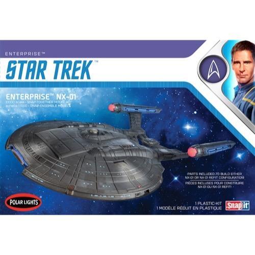 Star Trek Enterprise Nx-01 NO GLUE 1/1000