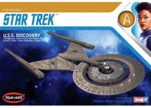 Star Trek Discovery USS Enterprise SNAP 1/25