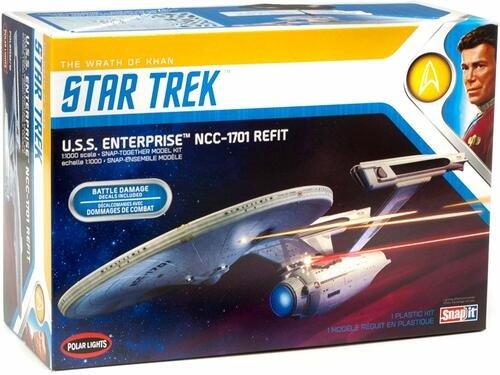 Star Trek U.S.S. Enterprise Refit-Wrath of Khan 1/1000