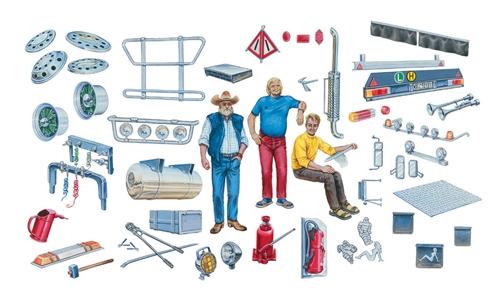 Truck Accessories 1/24