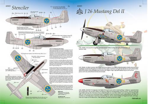 J 26 Mustang Del 2 1/48