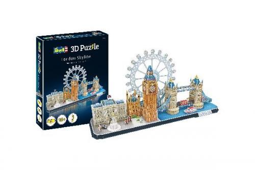 3D Pussel London Skyline