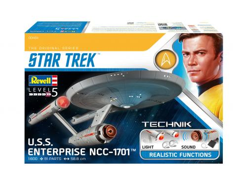 USS Enterprise NCC-1701 1/600